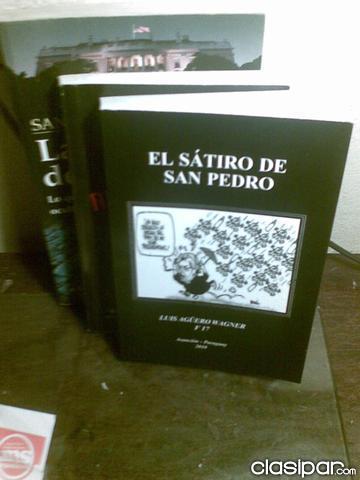 VENDO LIBRO FERNANDO LUGO EL SATIRO DE SAN PEDRO en Asunción